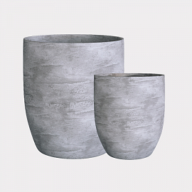 VASE3 CONCRETE GREY LIGHT